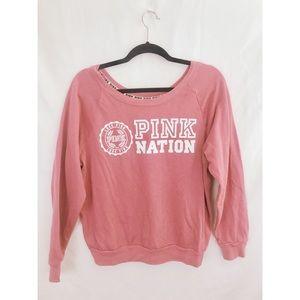 VS Pink Pullover Sweatshirt